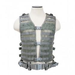 PALS/ MOLLE Vest [MED-2XL] - Digital Camo