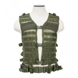 PALS/ MOLLE Vest [MED-2XL] - Green