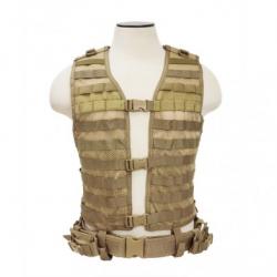 PALS/ MOLLE Vest [MED-2XL] - Tan