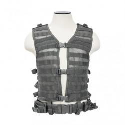PALS/ MOLLE Vest [MED-2XL] - Urban Gray