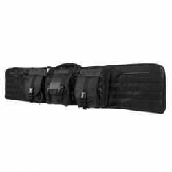 """Double Carbine Case 55"""" - Black"""