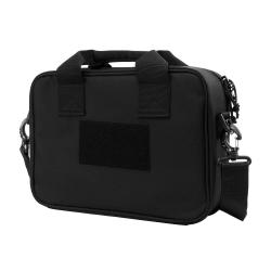 Double Pistol Range Bag/ Black