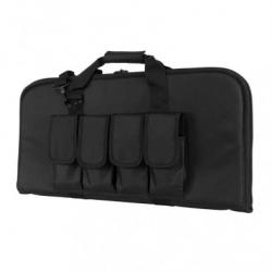 "28"" Subgun,AR & AK Pistol Case -Black"