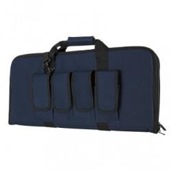 "28"" Subgun,AR & AK Pistol Case - Blue w/Black"