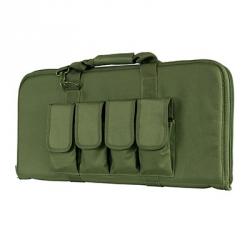 """28"""" Subgun,AR & AK Pistol Case -Green"""