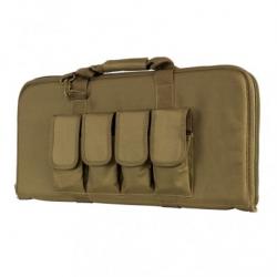 """28"""" Subgun,AR & AK Pistol Case - Tan"""