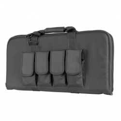 """28"""" Subgun,AR & AK Pistol Case - Urban Gray"""