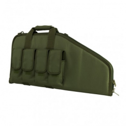 "28"" Tactical Subgun,AR&AK Pistol Case -Green"
