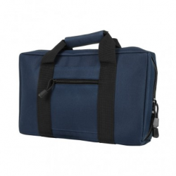 Discreet Pistol Case - Blue with Black