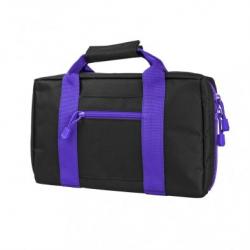 Discreet Pistol Case - Black with Purple