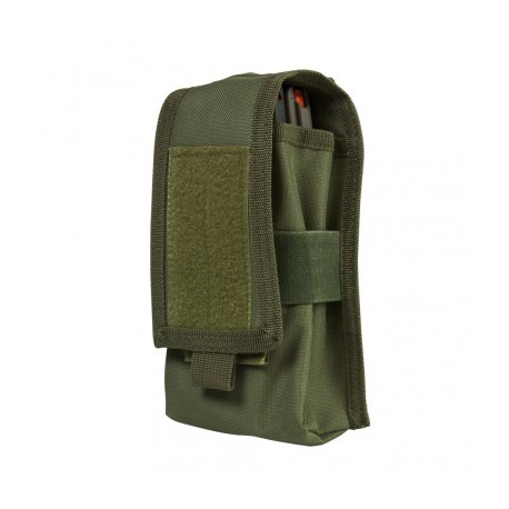 2 AR/AK Mags or Radio Pouch - Green