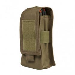 2 AR/AK Mags or Radio Pouch - Tan