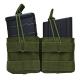 AR10/M1A/FAL .308 Dual Magazine Pouch - Green