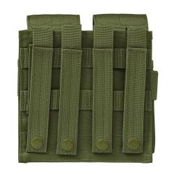 AR15/AK Quad Magazine Pouch - Green