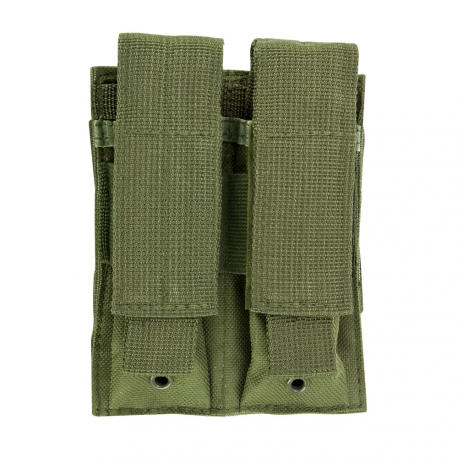 Double Pistol Mag Pouch - Green