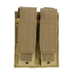 Double Pistol Mag Pouch - Tan