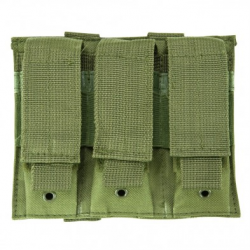 Triple Pistol Mag Pouch - Green