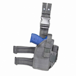 2954 Drop Leg Universal Holster -Urban Gray