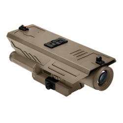 DELTA 4X30 Scope w/White & Red NAV LED - Tan