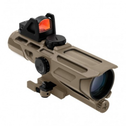 GEN3 USS 3-9X40 Scope w/Red Dot/MIL-DOT-Tan
