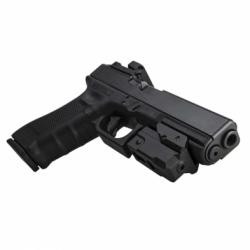 Compact Pistol Red Laser w/KeyMod Rail