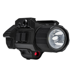 GEN3 Pistol Flashlight w/Strobe & Red Laser