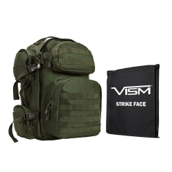 "2911 Backpack with 10""X12"" Soft Panel Green (Build to Order)"
