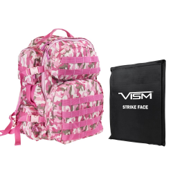 "2911 Backpack with 10""X12"" Soft Panel Pink Camo (Build to Order)"