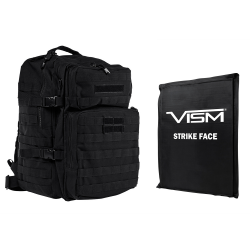 "2974 Backpack with 11""X14"" Soft Panel Black (Build to Order)"
