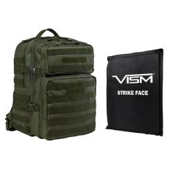 "2974 Backpack with 11""X14"" Soft Panel Green (Build to Order)"
