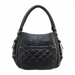 Quilted Hobo Medium - Black