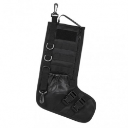 Tactical Christmas Stockings w/ Handle - Black