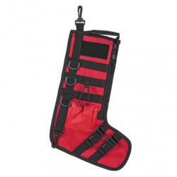 Tactical Christmas Stockings w/ Handle - Red
