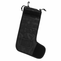 Tactical Christmas Stocking - Black