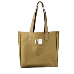 VISM® by NcSTAR® GROCERY SHOPPING BAG/ TAN
