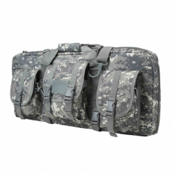 "DELUXE AR & AK PISTOL, SUBGUN GUN CASE WITH 3 ACCESSORY POCKETS (28""L X 13""H)/ DIGITAL CAMO"