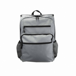 BACKPACK MODEL 3003 WITH FRONT AND REAR COMPARTMENT FOR SOFT BODY ARMOR (NOT INCLUDED)/ LIGHT GRAY