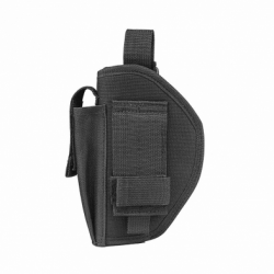 BELT HOLSTER & MAG POUCH /BLK