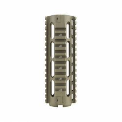 AR15 Carbine Length Quad Rail - Tan