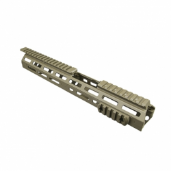 "Ar15 M-Lok® Drop In Handguard - 13.5""L Carbine Extended Handguard Length - Tan"
