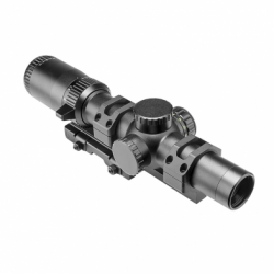 Shooters Combo 1-6x24 Scope with SPR mount