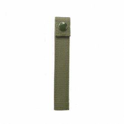 "MOLLE LONG 6"" THUMB SNAP STRAPS/ 4 PACK/ GREEN"