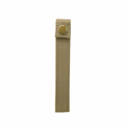"LONG 6"" THUMB SNAP STRAPS/ 4 PACK/ TAN"