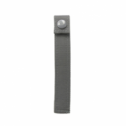 "MOLLE LONG 6"" THUMB SNAP STRAPS/ 4 PACK/ URBAN GRAY"