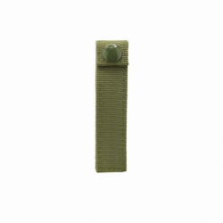"Molle Small 4"" Thumb Snap Straps/ 4 Pack/ Green"