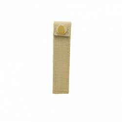 "Molle Small 4"" Thumb Snap Straps/ 4 Pack/ Tan"