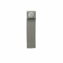 "Molle Small 4"" Thumb Snap Straps/ 4 Pack/ Urban Gray"