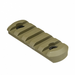 Tan M-Lok® Picatinny Rail - Short