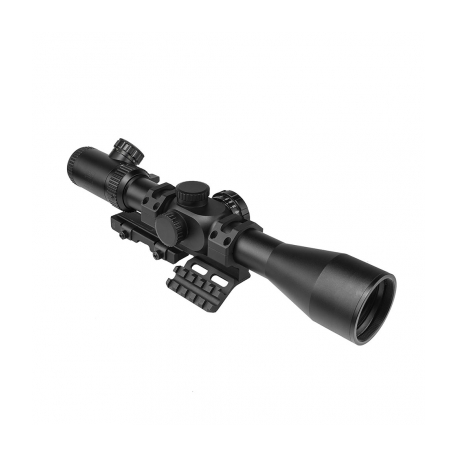 STR Series 4-16x44 Full Size Scope With Vism Vmsprbv2 Mount Combo