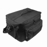 Medium Insulated Cooler Lunch Box With Molle/Pal Webbing/ Black